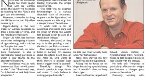 Hypno-diet article