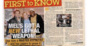 Mel Gibson, Danny Glover and Rick Collingwood news article