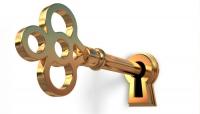Key in hole