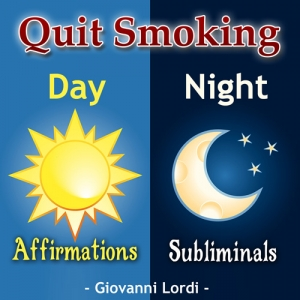Quit Smoking Affirmation & Subliminal CD Cover