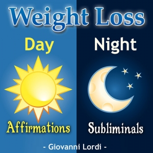Weight Loss Affirmation & Subliminal CD Cover