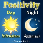Positivity Affirmations & Subliminals CD Cover